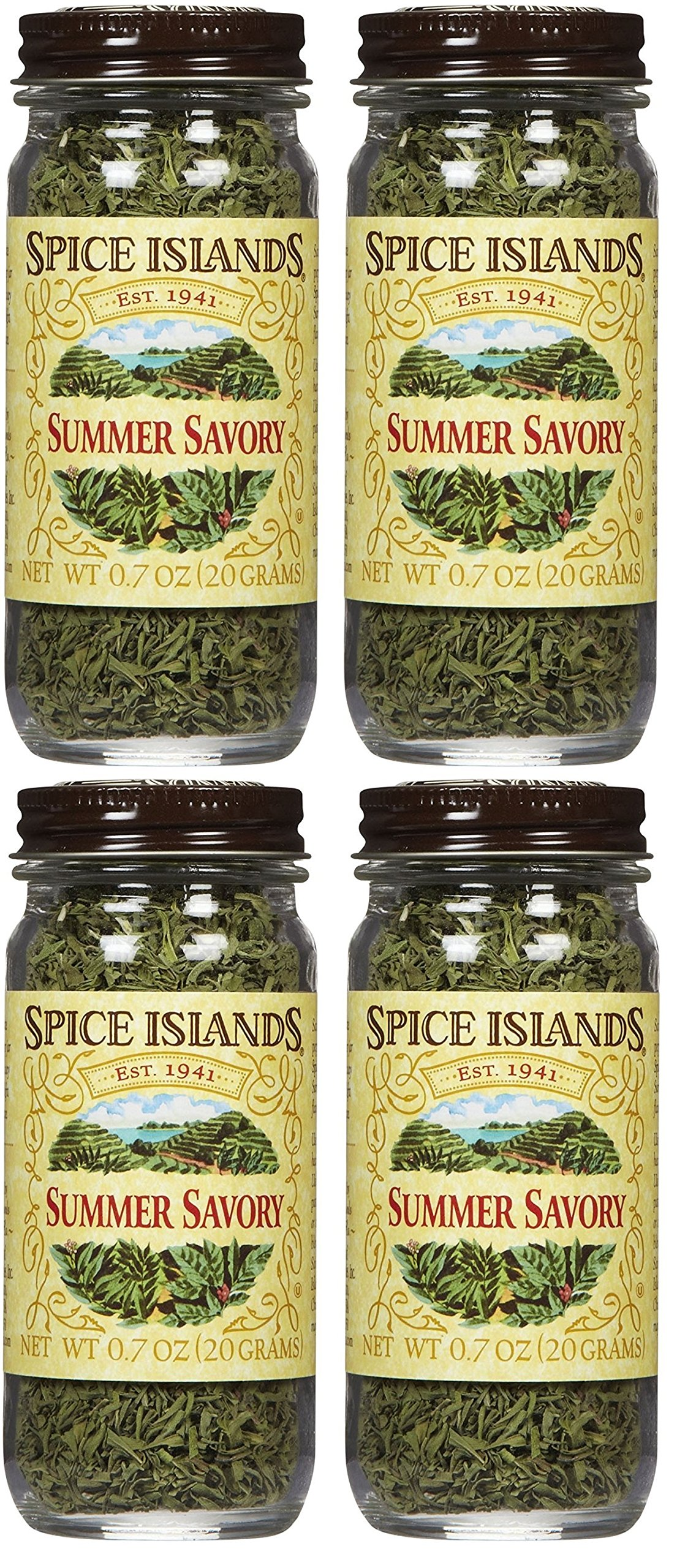 Spice Islands Summer Savory.7-Ounce (Pack of 4)