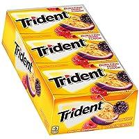 12 Pack Trident Passionberry Twist Sugar Free Gum w/Xylitol
