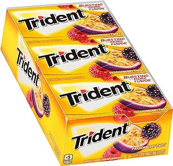12-Pack Trident Passionberry Twist Sugar Free Gum
