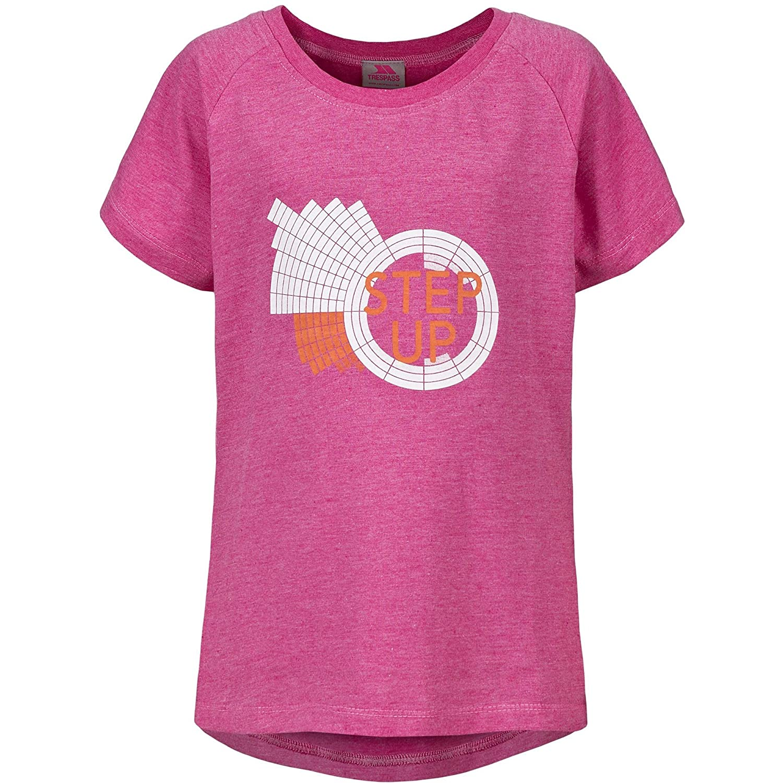 Trespass Elva poliestere cotone girocollo stampato t-shirt