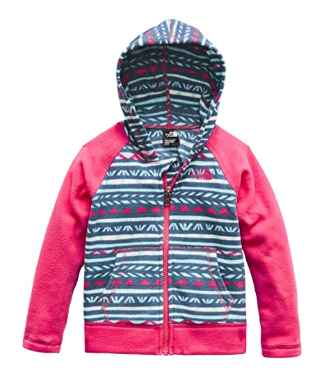 0704acb45b The North Face toddler girls fleece coat size 5 hooded jacket