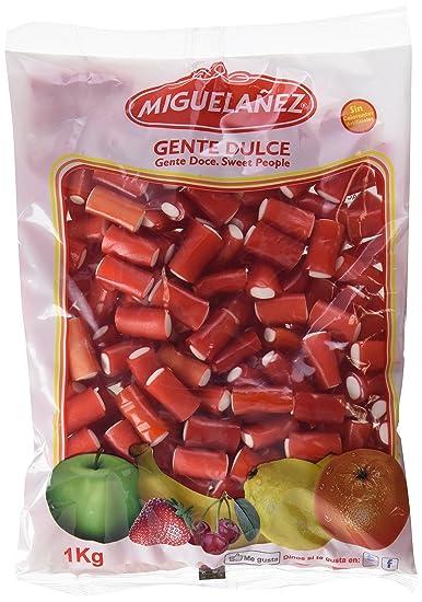 Miguelañez Bolsa Taco Fresa-Nata - 1000 gr - [Pack de 3]