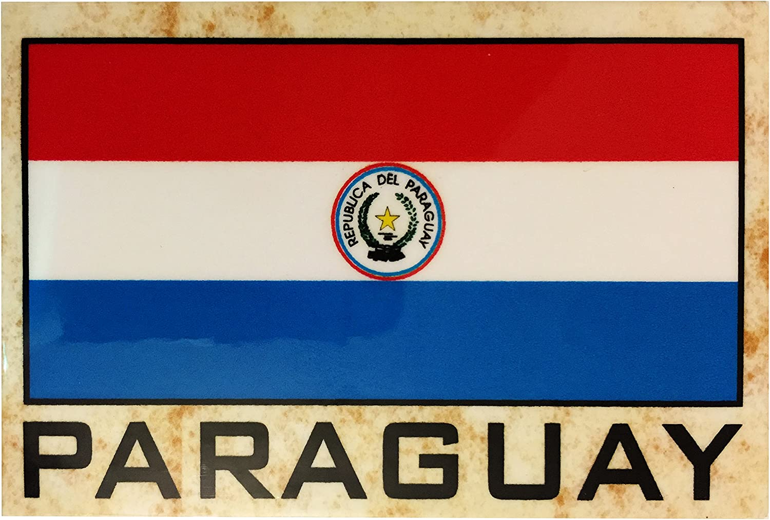 Flag Fridge Refrigerator Magnets - Americas (Country: Paraguay)