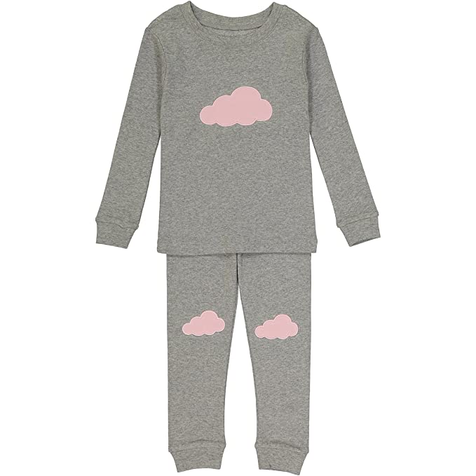 Amazon Allie & Oliver 100% Cotton Snug Fit Unisex Toddler, Baby, Kids Pjs Pajamas Set $16.95