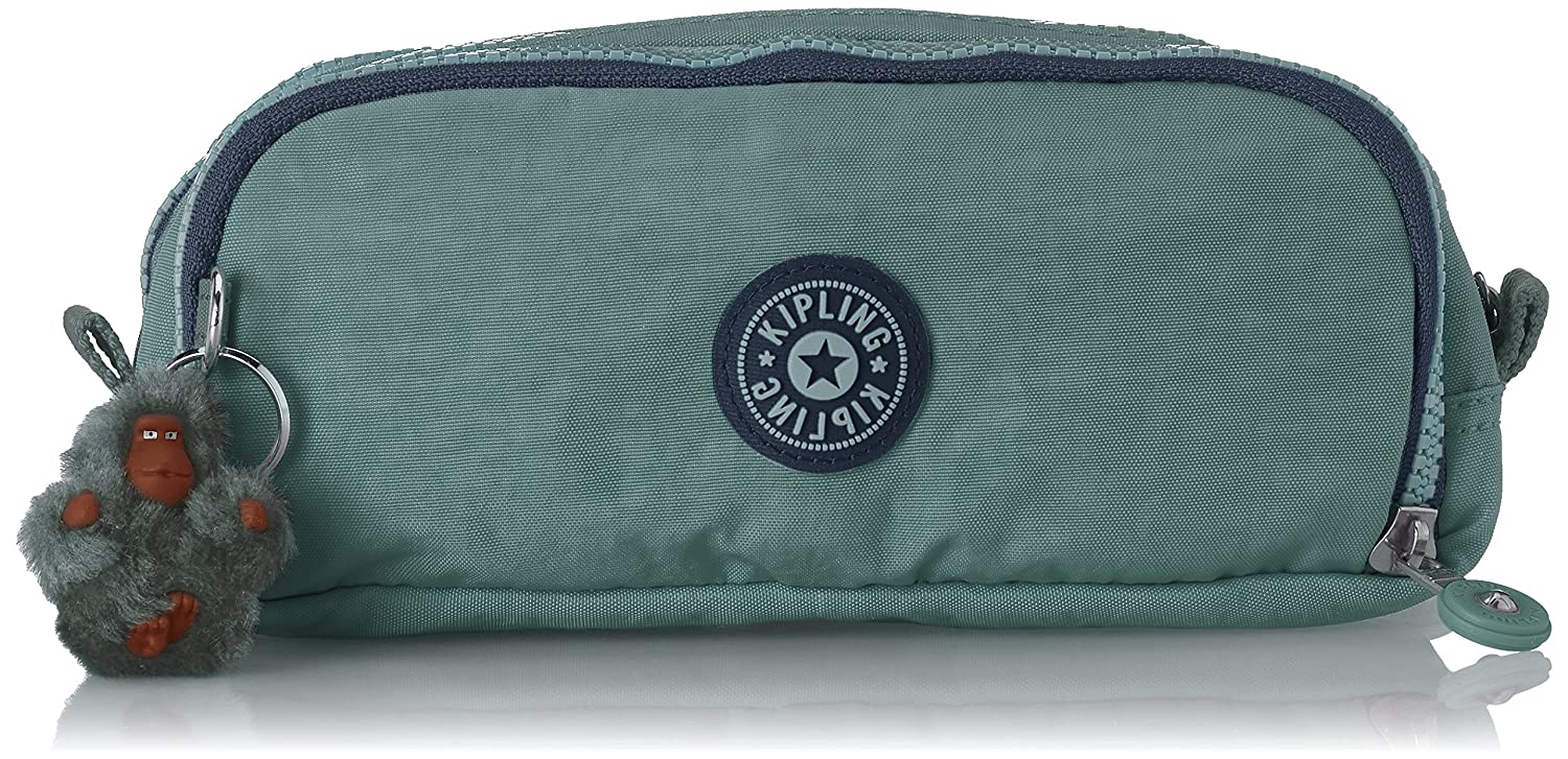 Kipling Gitroy Pencil Cases, 25 cm, Blue (True Jeans)