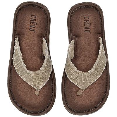 Crevo Men's Monterey II Flip-Flop   Sport Sandals & Slides