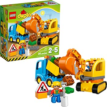 LEGO DUPLO 10812 Town Truck Construction Toy