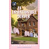An Unmentionable Murder (Manor House Mystery Book 9)