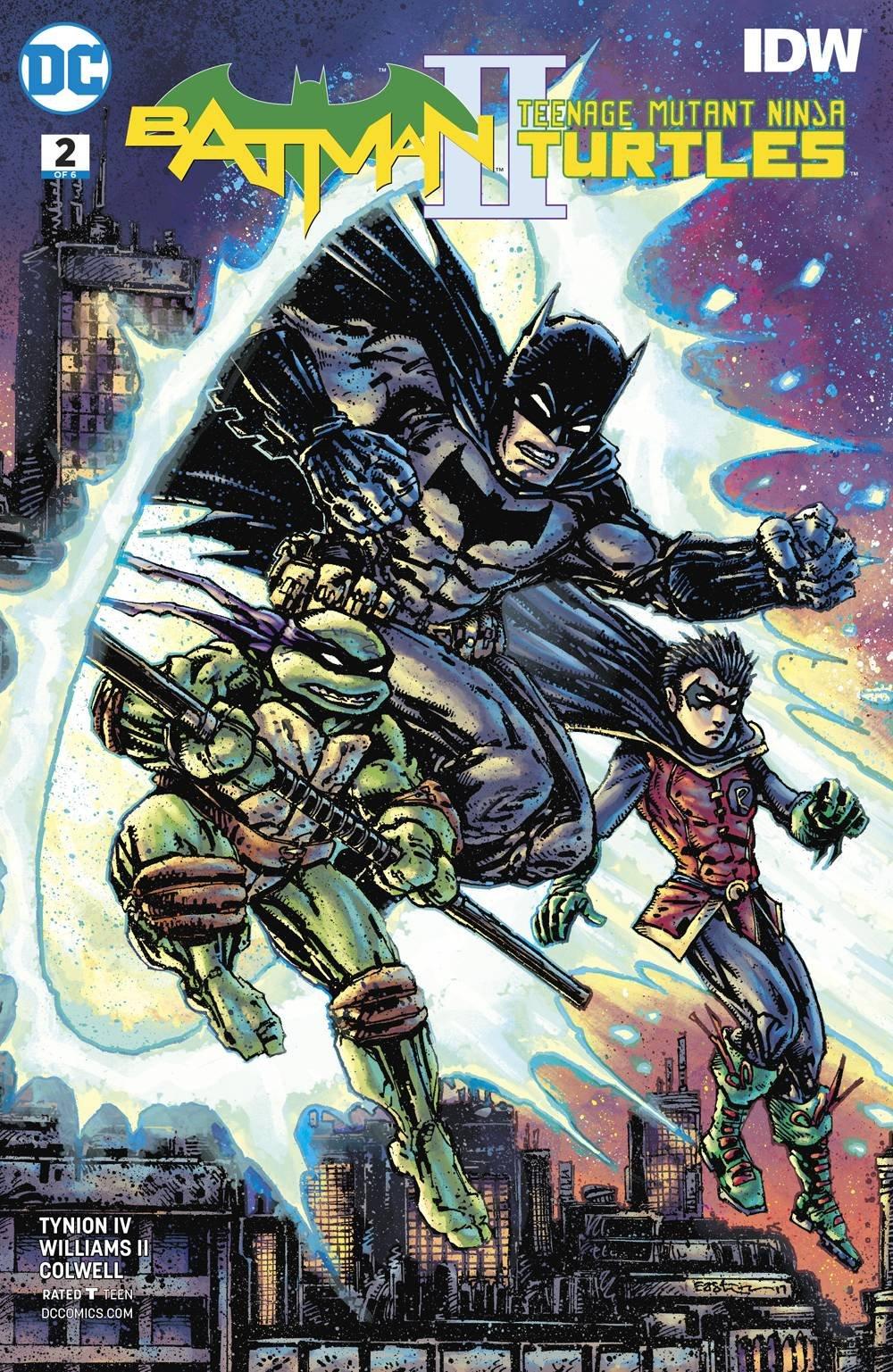 BATMAN TEENAGE MUTANT NINJA TURTLES II #1 (OF 6) VAR ED ...