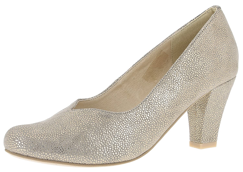 HIRSCHKOGEL Damen Pumps 3004536 Trachtenschuhe   Oktoberfestschuhe   Dirndlschuhe T-Strap    Spangenpumps   Schuhe zum Drindl   Schuhe zur Lederhose   Pumps zur Jeans