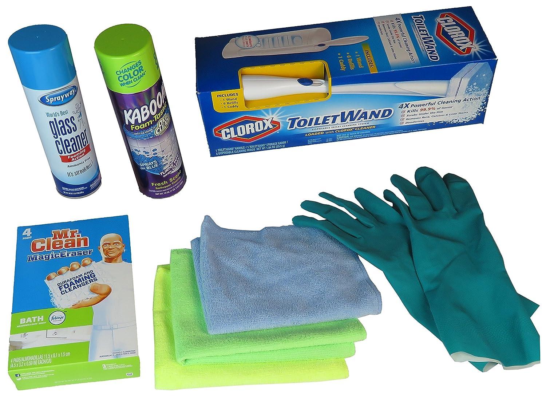 Amazon.com: Bathroom Cleaning Bundle: Kitchen & Dining