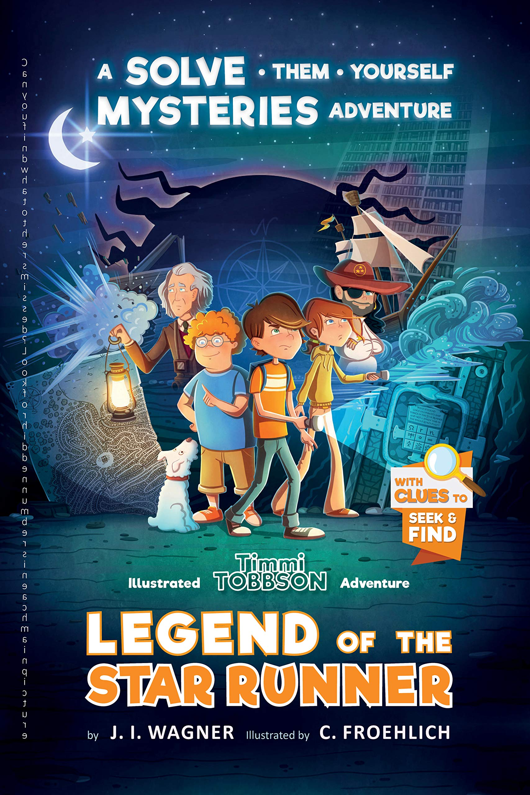 Legend of the Star Runner: A Solve-Them-Yourself Mysteries Adventure (Timmi Tobbson Chapter Book for Kids 8-12) (English Edition)