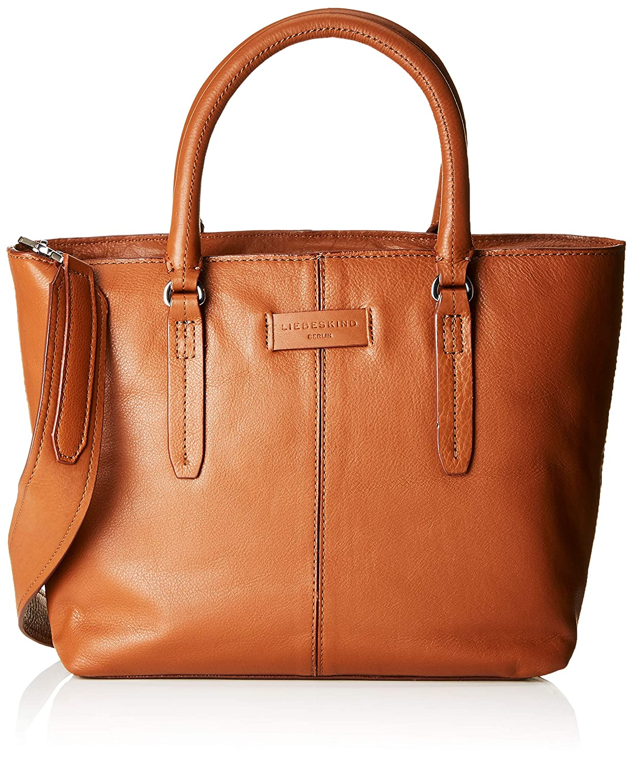 Brown (Bourbon) Liebeskind Berlin Women's Essential Satchel Medium Satchel