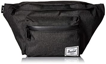 1b4bb2dcbdc Herschel Seventeen Waist Pack, Black Crosshatch, One Size