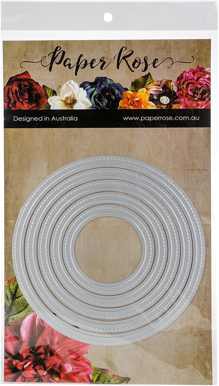 Paper Rose Dies-Nesting Stitched Peek-A-Boo Circles