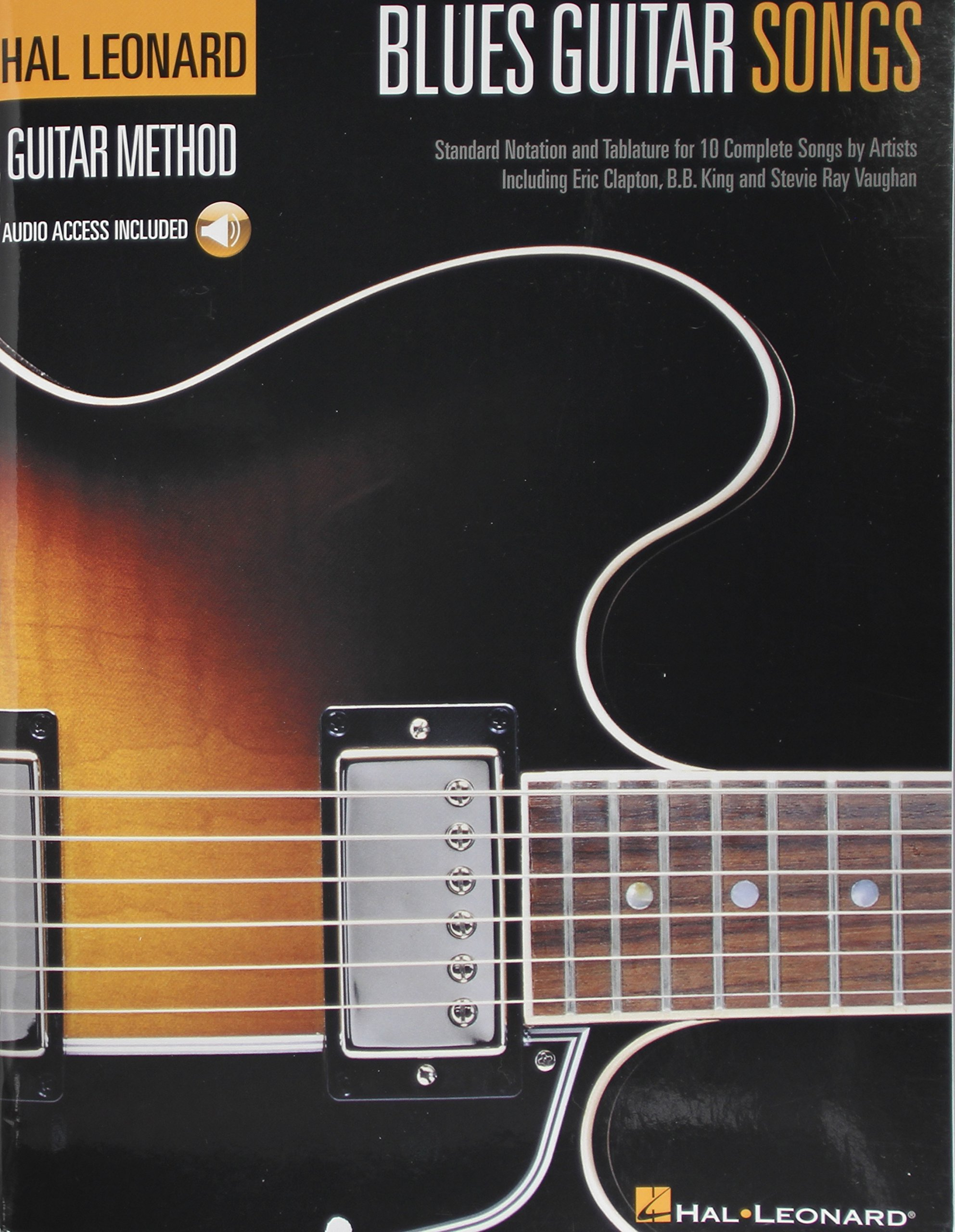 Blues Guitar Songs Tab Book Includes Online Access Code