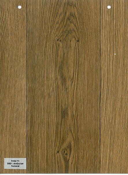 Furnishingsuk 5601 Amboise Natural Wood Effect Anti Slip Vinyl