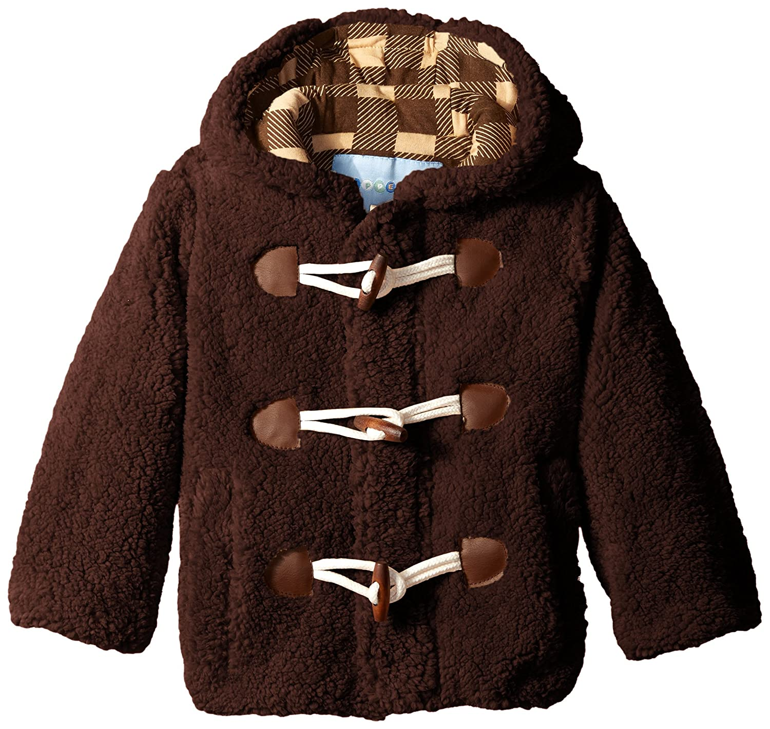 Wippette Little Boys' Wooly Fleece Toggle Coat Wippette Boys 2-7 child code WB73043
