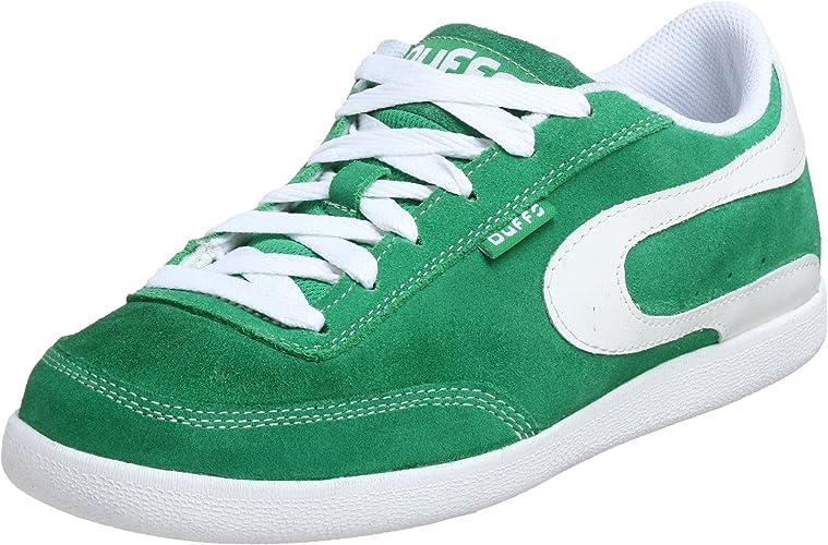 Duffs Men's Casual Green Size: 5.5