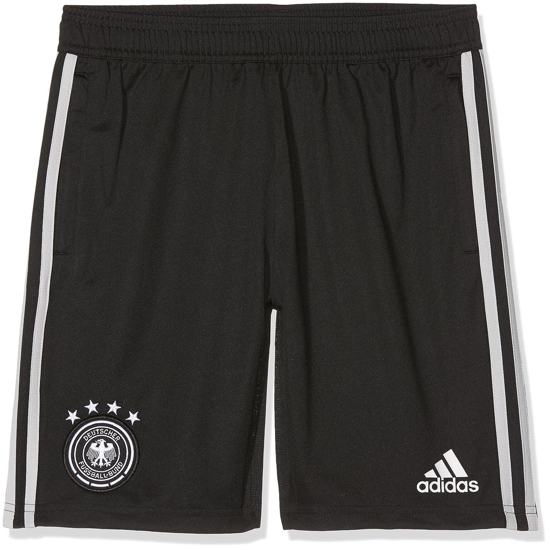 2018-2019 Germany Adidas Training Shorts (Black) Kids B0776CGSSNBlack Large Boys 26\