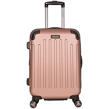 Kenneth Cole Reaction Renegade 20  Hardside Expandable 8-Wheel Spinner Carry-on Luggage, Rose Gold