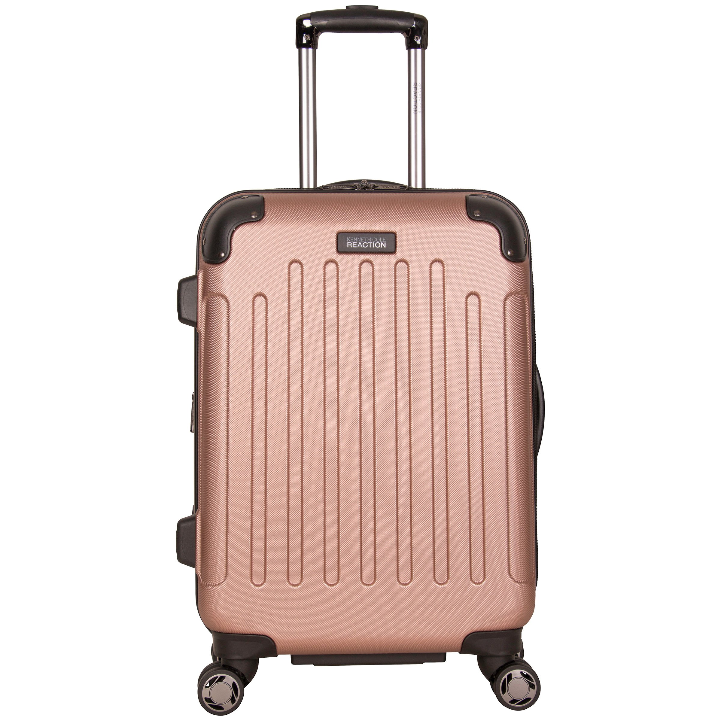 Kenneth Cole Reaction Renegade 20'' Hardside Expandable 8-Wheel Spinner Carry-on Luggage, Rose Gold