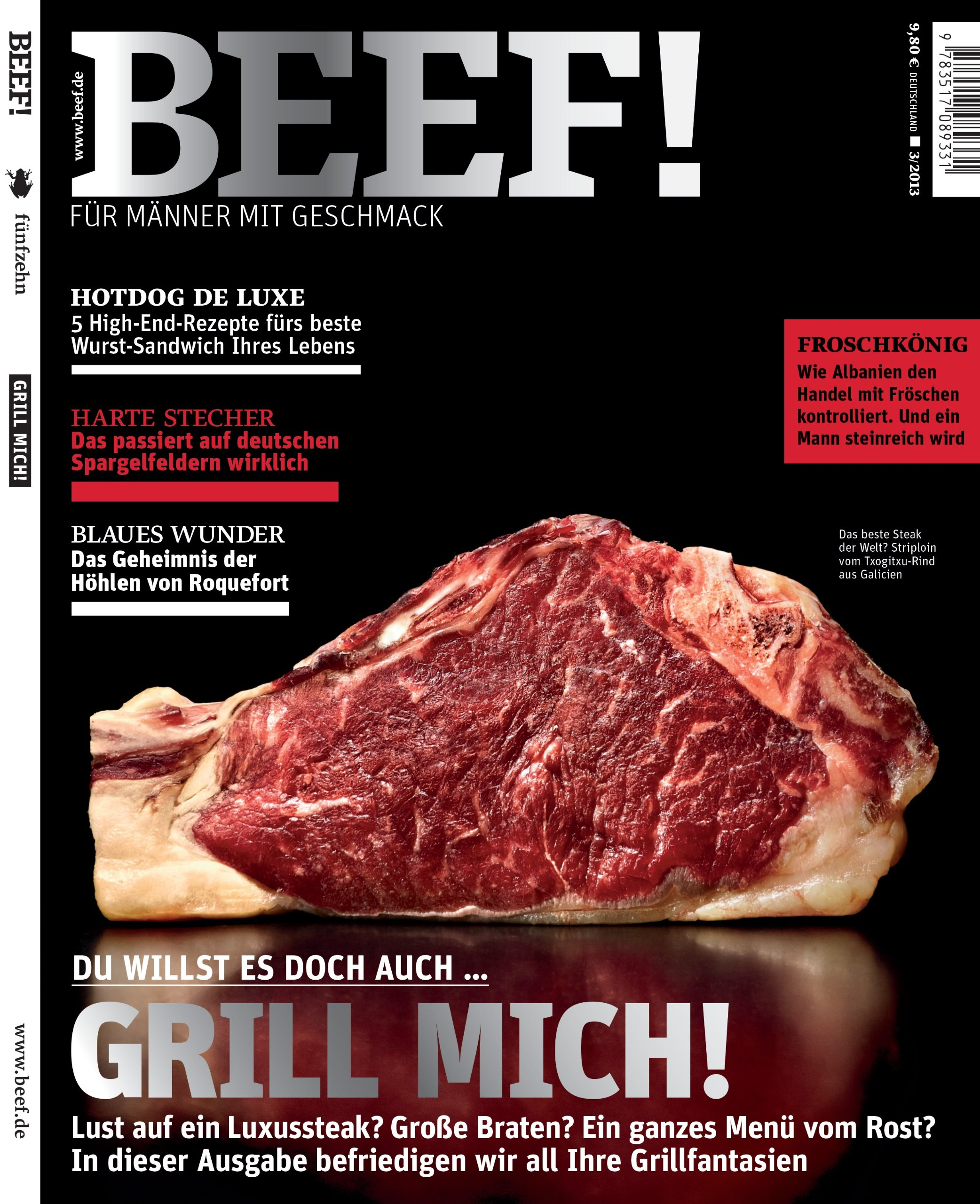 BEEF! - Für Männer mit Geschmack: Ausgabe 3/2013