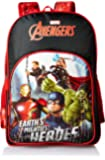 Avengers Earth's Mightiest Heroes School Bag for Children of Age Group 8 + years | Size 18 inch