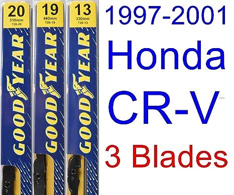 1997 – 2001 HONDA CR-V hoja de limpiaparabrisas de repuesto Set/Kit (