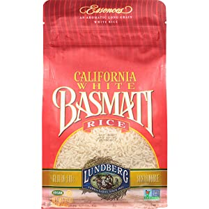 Lundberg Basmati White Eco-Farmed Rice, 2 lb