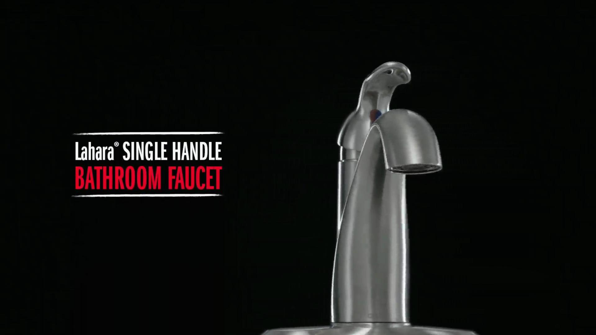 Delta 538-RBMPU-DST Lahara Single Handle Centerset Bathroom Faucet ...