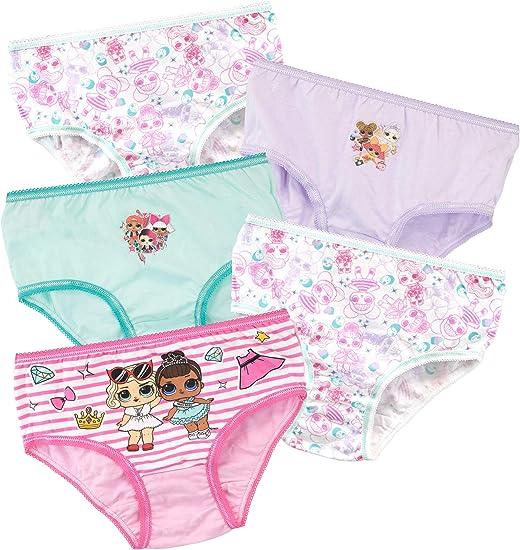 Lol Surprise Girls 3 Pack Underwear Briefs Knickers Set