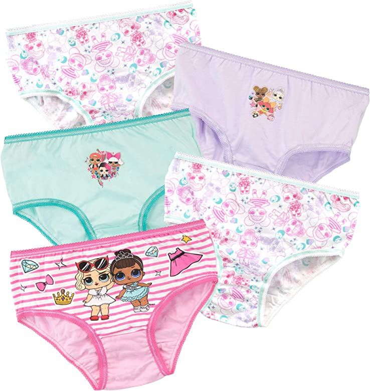 LOL Surprise Girls Underwear Pack of 5 Multicoloured Age 9 to 10 Years