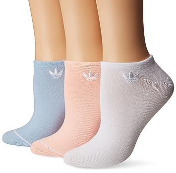 adidas Originals de la mujer no show calcetines (3 Pack), mujer, color