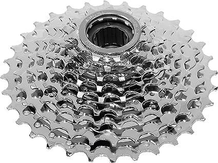 Bike Freewheel 8 Speed 13-32 Teeth Silver Sprocket Replacement Part Ventura