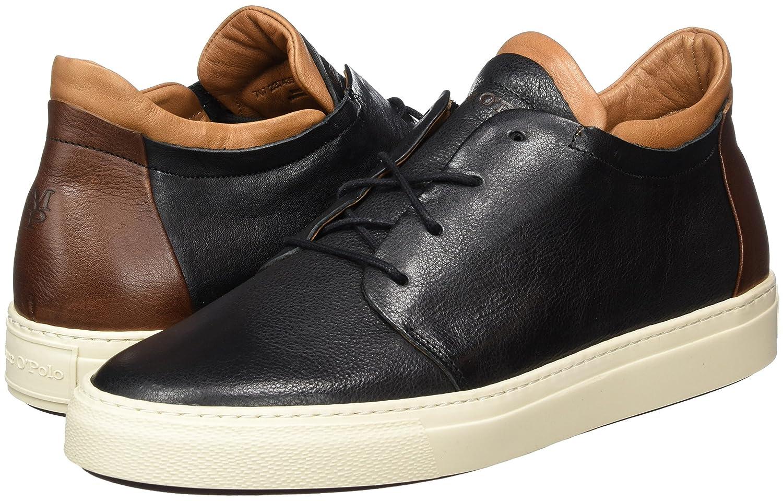 Sneaker 70723743502103, Baskets Hautes Homme, Marron (Brandy), 45 EUMarc O'Polo