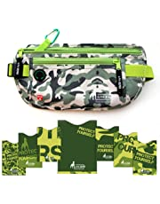 Alpha Keeper Cinturón de Dinero para el Viaje con RFID Bloqueo Conjunto de Mangas para el