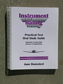 instrument pilot practical test oral study guide june bonesteel rh amazon com A Study Book A Study Design