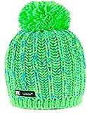 Wurm Winter Niunio Style Beanie Mütze mit Ponpon Damen Herren HAT HATS SKI Snowboard Morefazltd (TM)