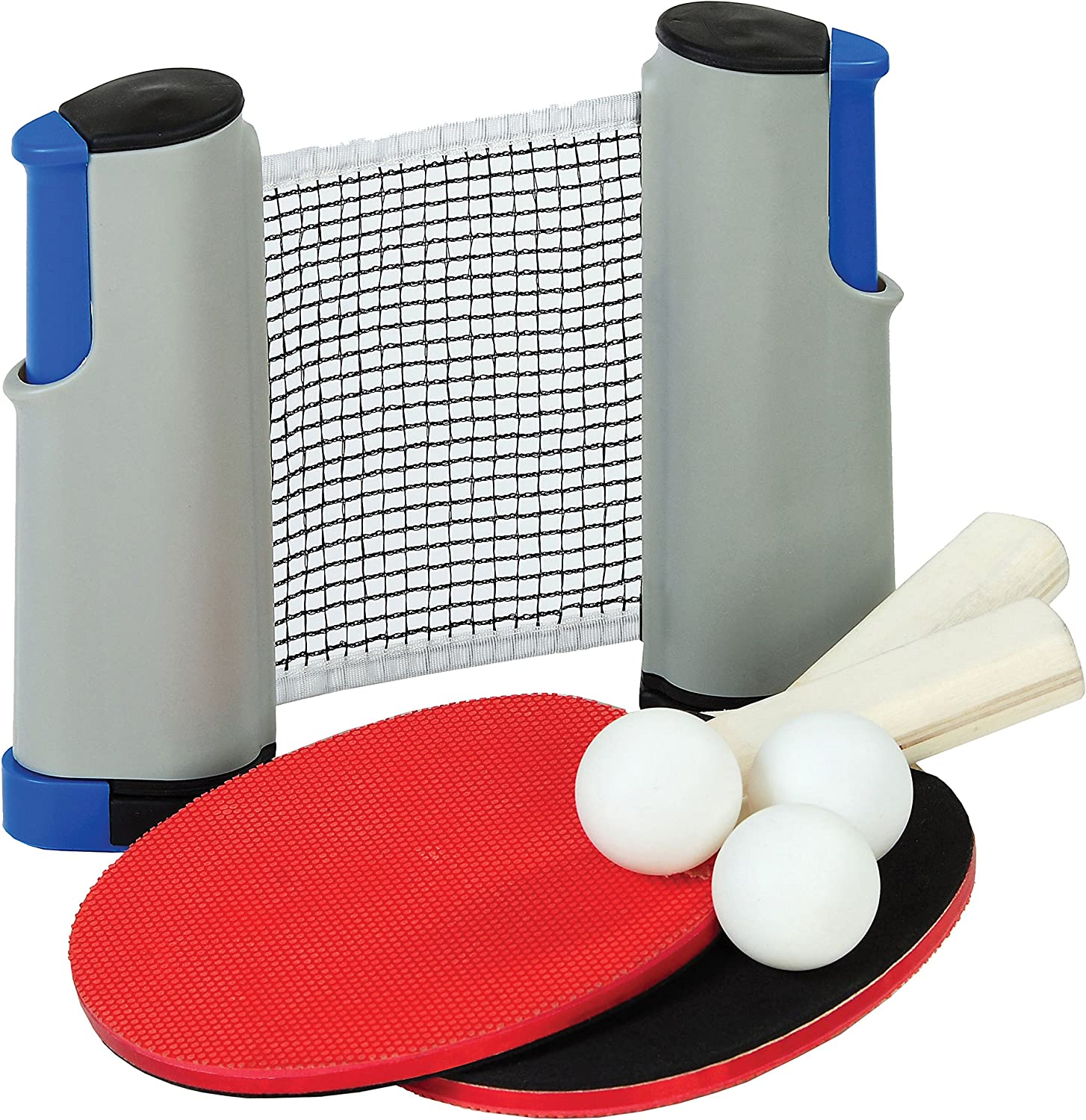 Outside Inside Freestyle Table Tennis Set, Lightweight, Compact, Travel Size for Home, Cabin and Travel