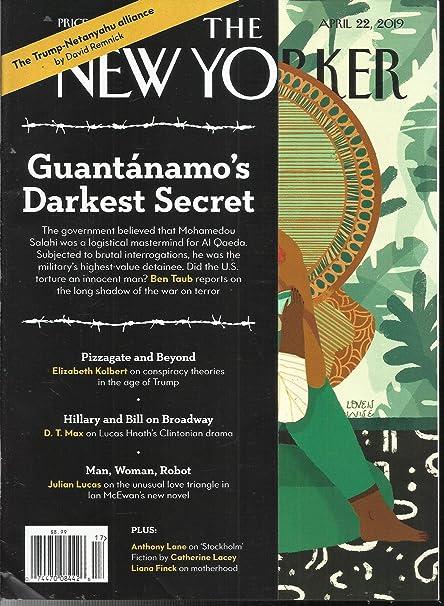 Amazon com : THE NEW YORKER MAGAZINE, GUANTANAMO'S DARK
