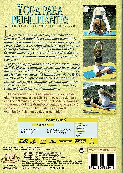 Yoga para principiantes [DVD]: Amazon.es: SUSAN FULTON: Cine ...