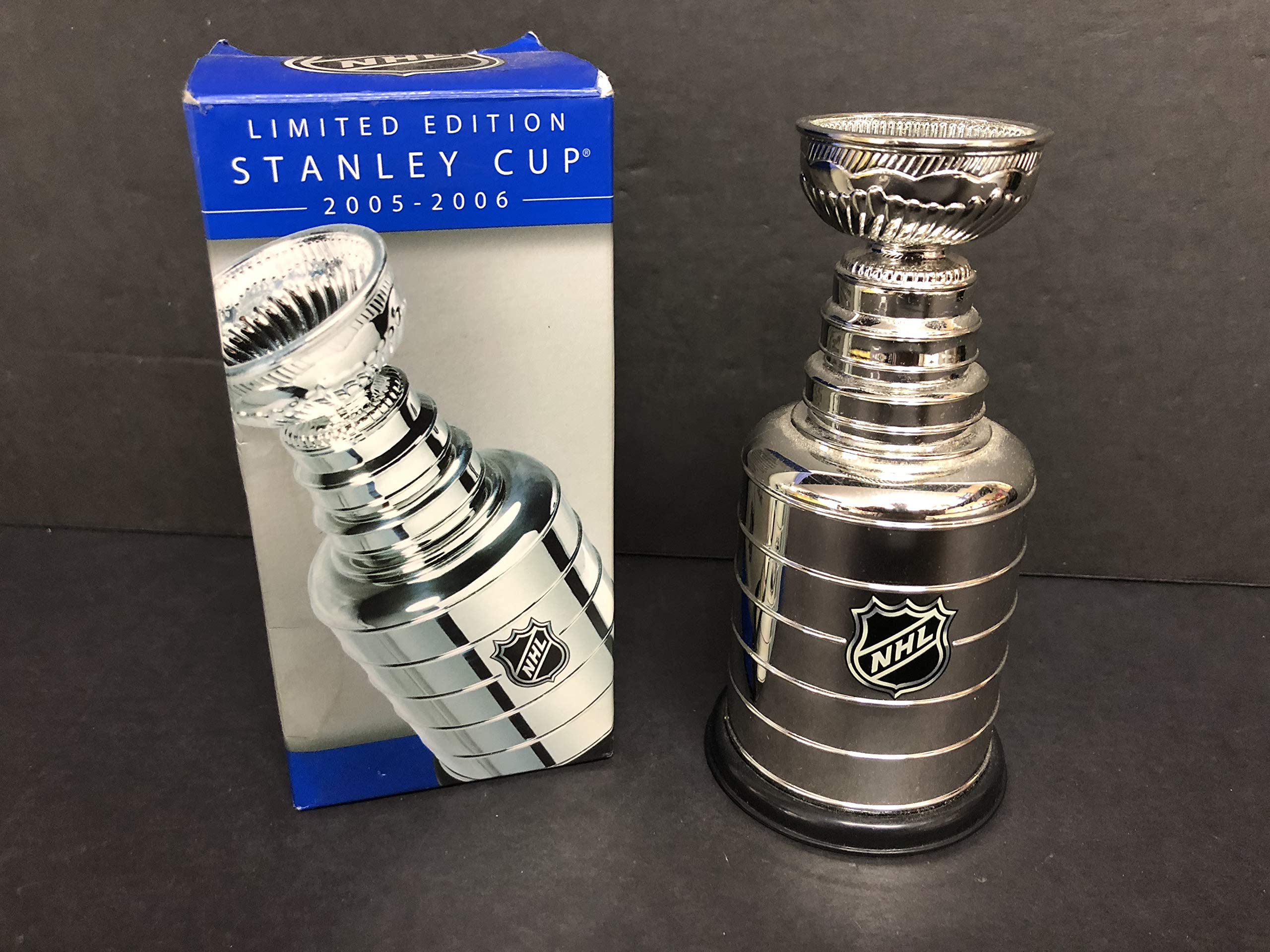 2005 2006 Limited Edition NHL Replica Mini Stanley Cup Trophy Hockey