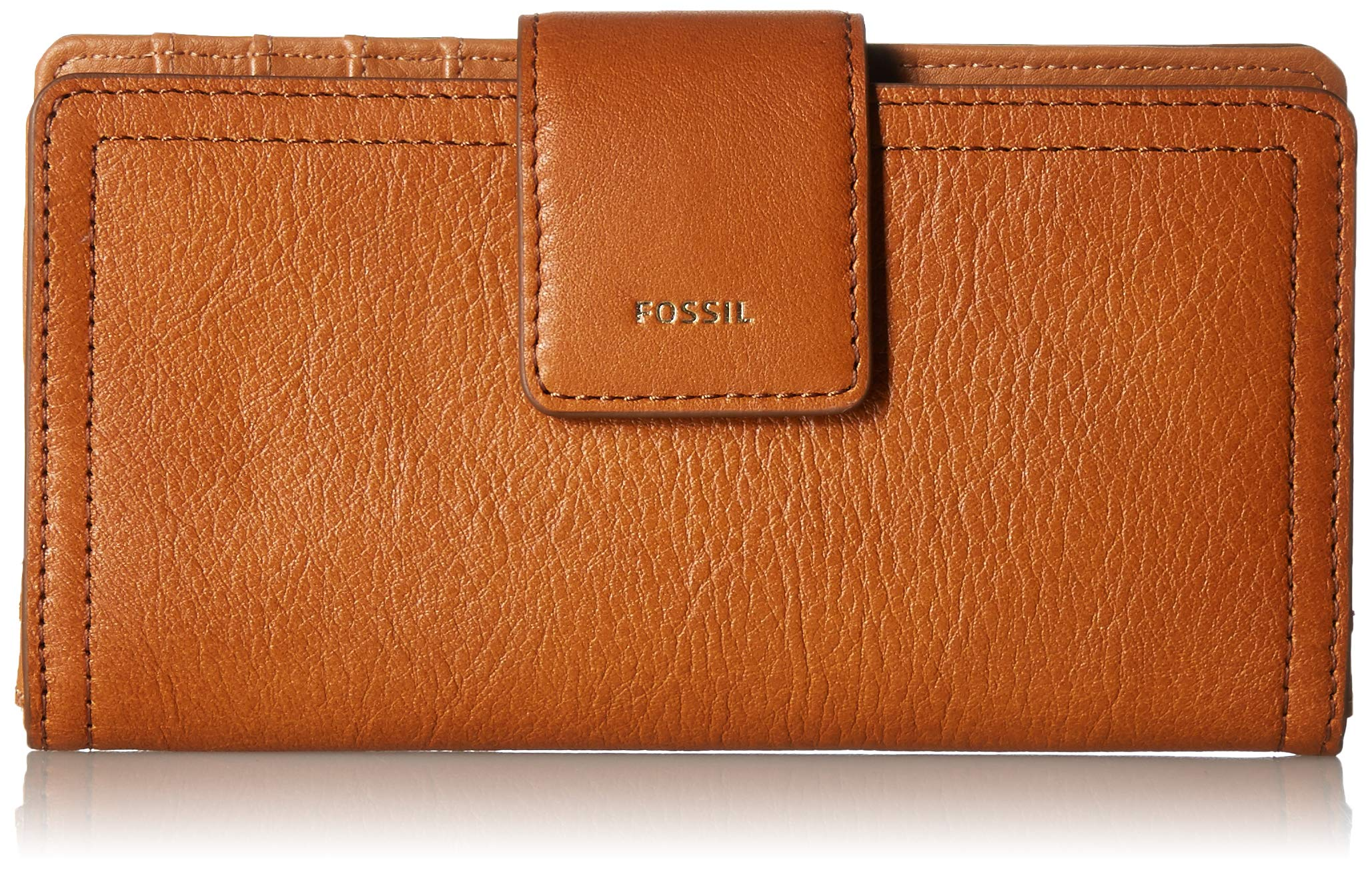 Fossil Logan RFID Tab Wallet, Tan by Fossil
