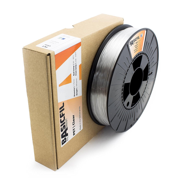 BASICFIL PET 1.75mm 500 g 3D Drucker Filament orange ORANGE
