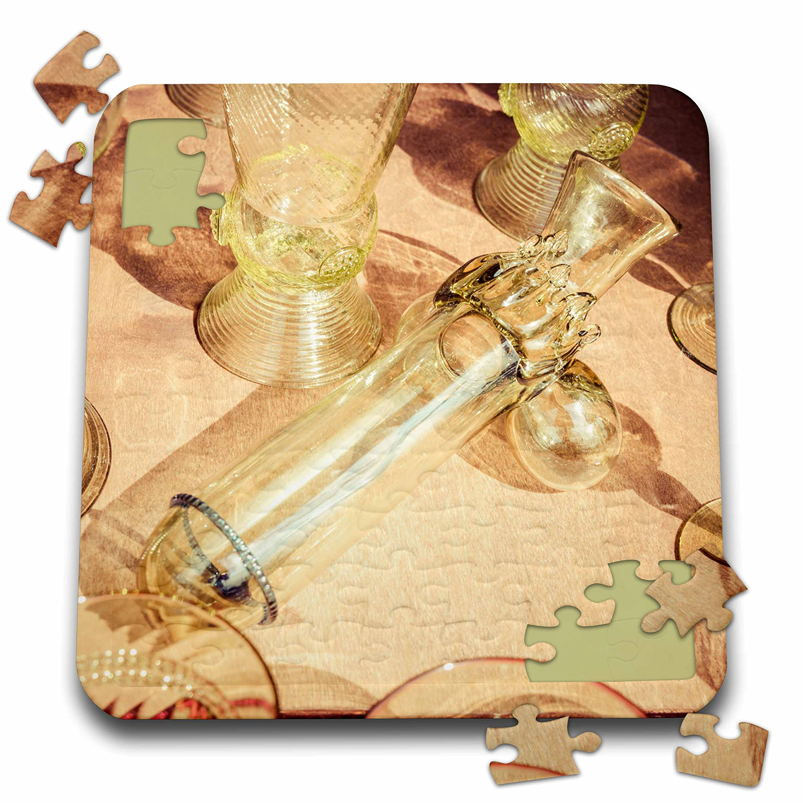 Alexis Photography - Objects - Erotic vintage wine glass. Stylized photo - 10x10 Inch Puzzle (pzl_270827_2)
