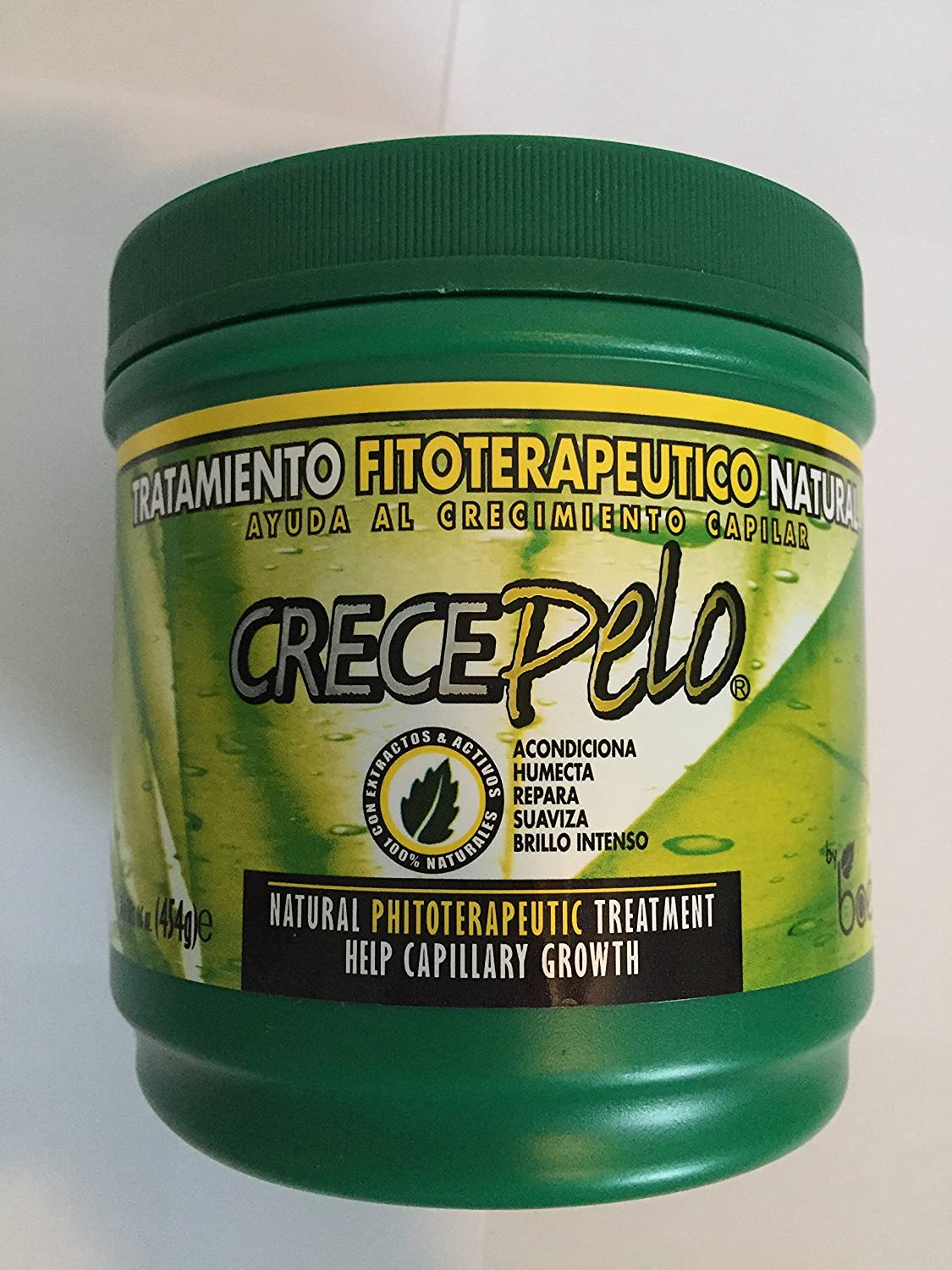 Amazon.com : Crecepelo Natural Phitoterapeutic Treatment/ Crecepelo Tratamiento Fitoterapeutico Natural 8 Oz : Beauty