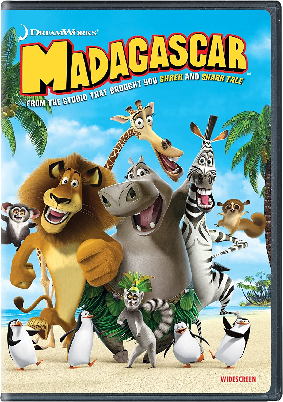 Amazon com: Madagascar (Widescreen Edition): Ben Stiller, Chris Rock