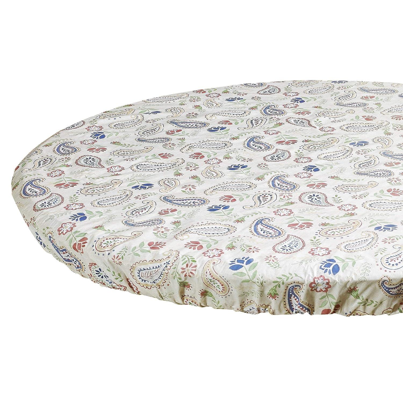 HomeCrate Paisley Heavyweight Vinyl Tablecloth 52 X 76 Rectangle