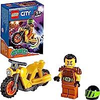 LEGO 60297 City Stuntz Sloop Stuntmotor met Speelgoed Motor met Vliegwielaandrijving & Racer Wallop Minifiguur…
